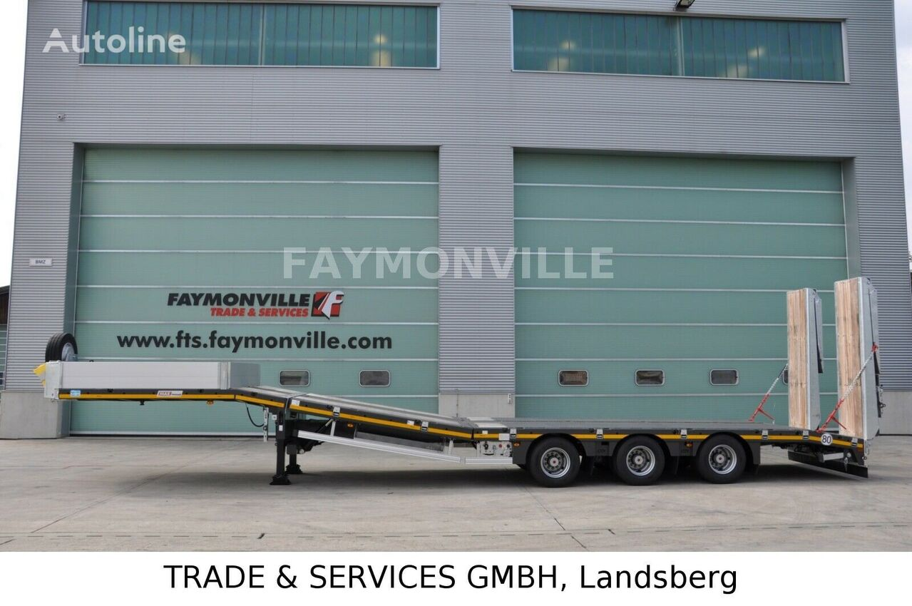 new FAYMONVILLE Satteltieflader MAX100-N-3B-9.30-U low bed semi-trailer